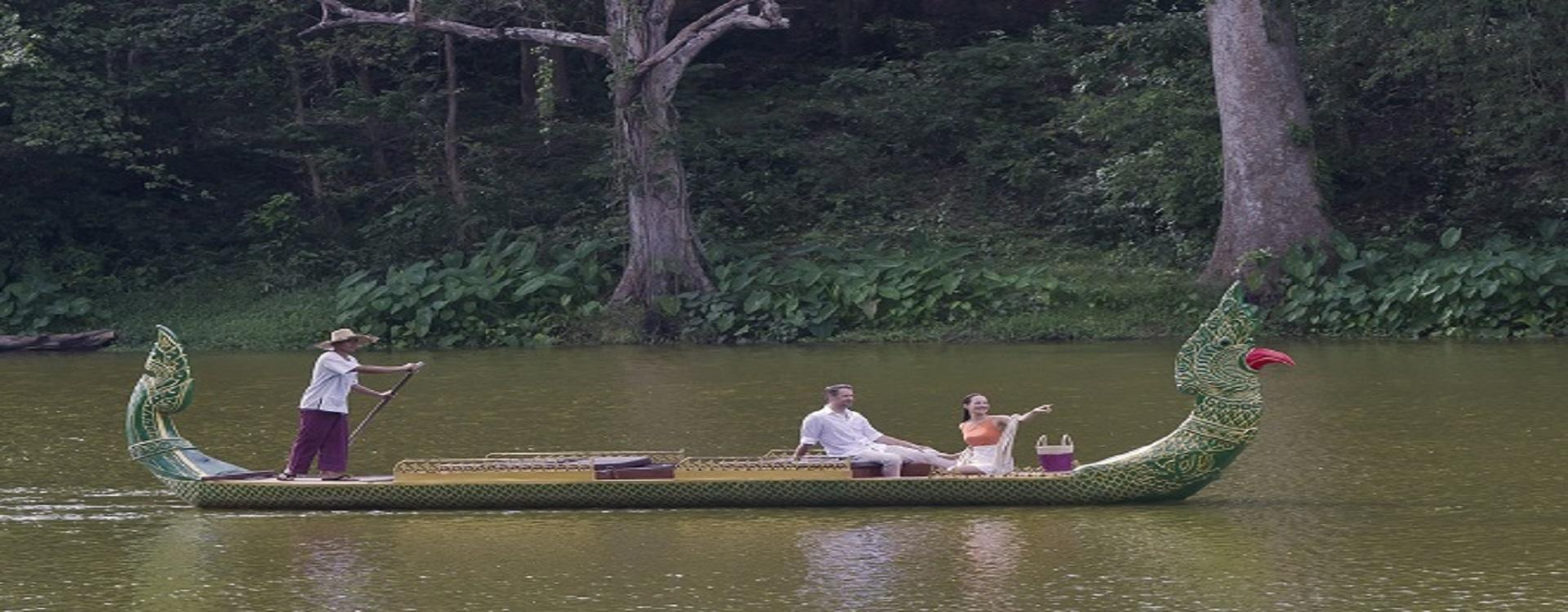 Anantara_Angkor_Romantic Boat Cruise for two at Tonle Om