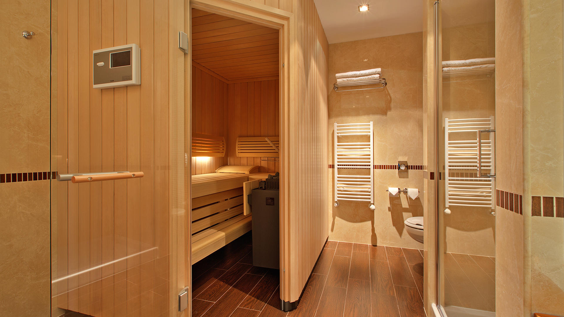 Panorama Suite Sauna