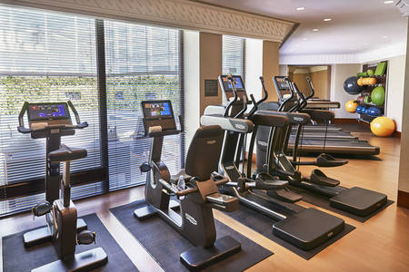 Fitness Centre at The Capitol Kempinski Hotel Singapore